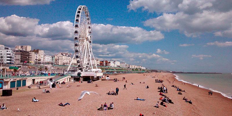 Programa de inglés para toda la familia en Brighton Inglaterra