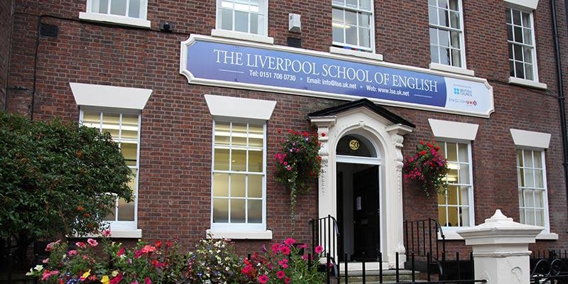 Escuela de inglés en Liverpool