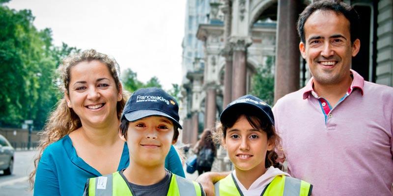 Programa de inglés para toda la familia en Londres Inglaterra
