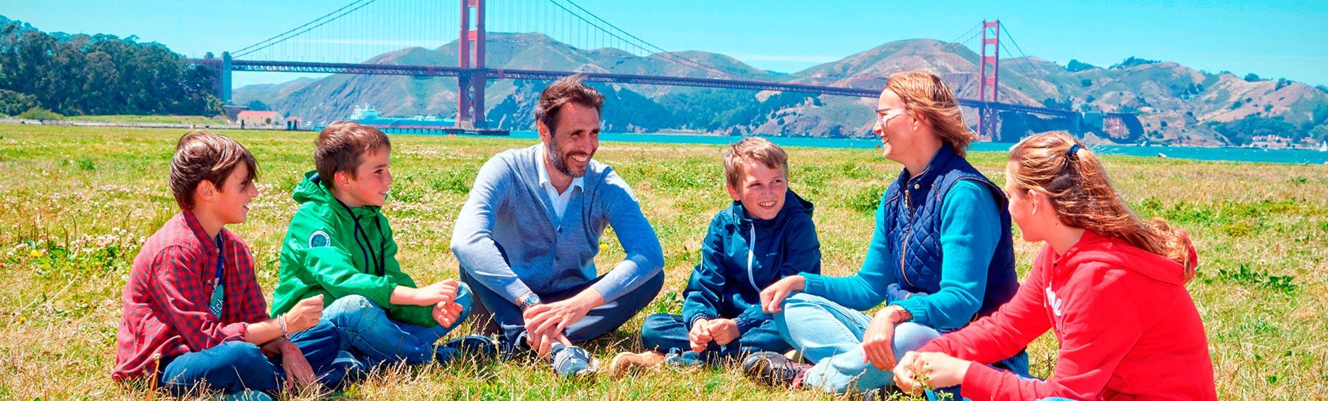 Programa de inglés para toda la familia en San Francisco