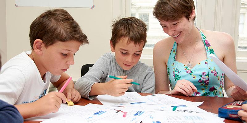 Programa de inglés para toda la familia en Boston