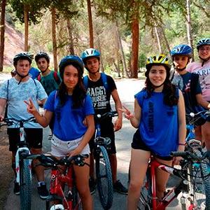 Campamento para niños y jóvenes en Cazorla, España
