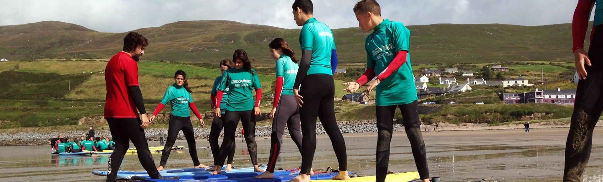 programa jóvenes verano inglés más surf en irlanda