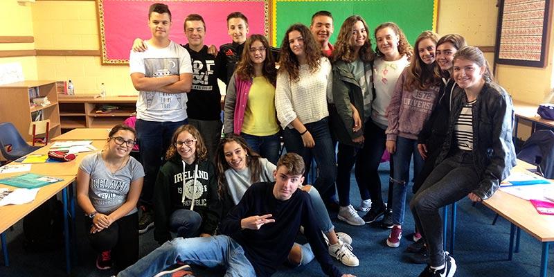programa jóvenes Irlanda