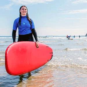 Cursos de inglés y Surf para jóvenes en Irlanda 2018