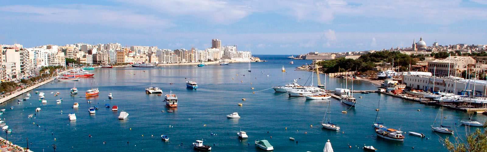 Cursos de inglés en Malta Sliema