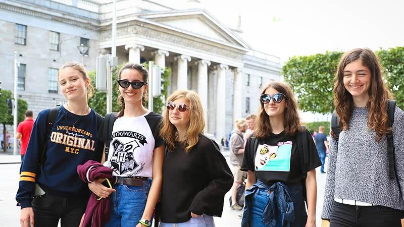 Cursos de inglés para jóvenes en Dublín